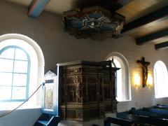 Die Kanzel aus der Werkstatt des Meisters Ringeling, Flensburg
